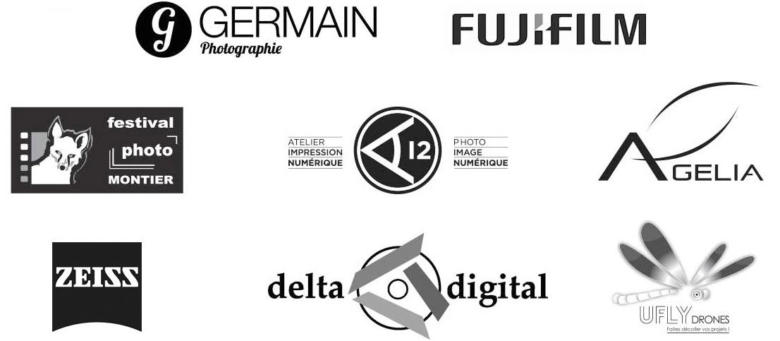 Logos des partenaires de l'Arche Photographique