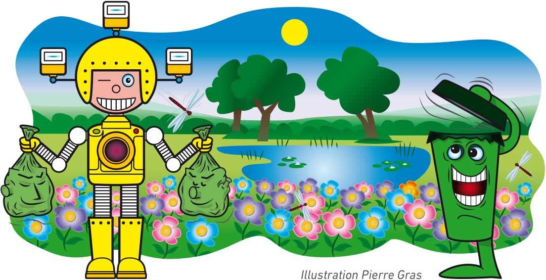 Martinator protège la biodiversité en recyclant ses déchets
